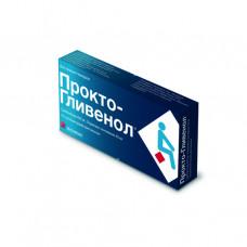 Прокто-гливенол 400мг №10 Супп.
