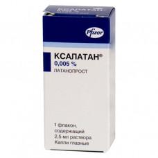 Ксалатан 0,005%-2,5мл капли