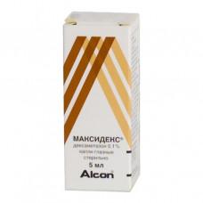 Максидекс 0,1%-5мл фл. М!