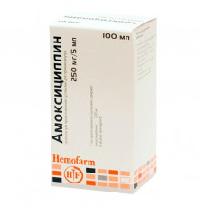 Амоксициллин гран 250мг/5мл 40г фл 100мл