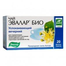 Чай Эвалар БИО Успокаивающий вечерний, ф/п 2г №20