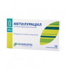 Метилурацил 0,5г №10 свечи М!