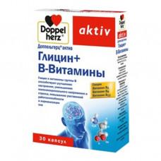 Доппельгерц актив глицин+в-витамины №30 капс