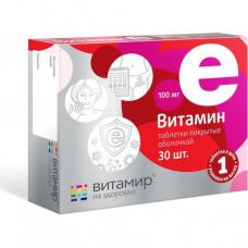 Витамин Е Витамир таб №30 (Квадрат С)
