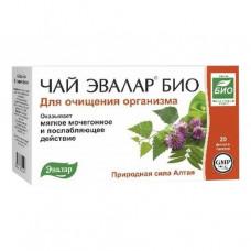 Чай Эвалар БИО для Очищения организма в ф/п №20 по 1,5 г